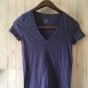 JCrew Vintage Cotton Women Short Sleeve T- Shirt